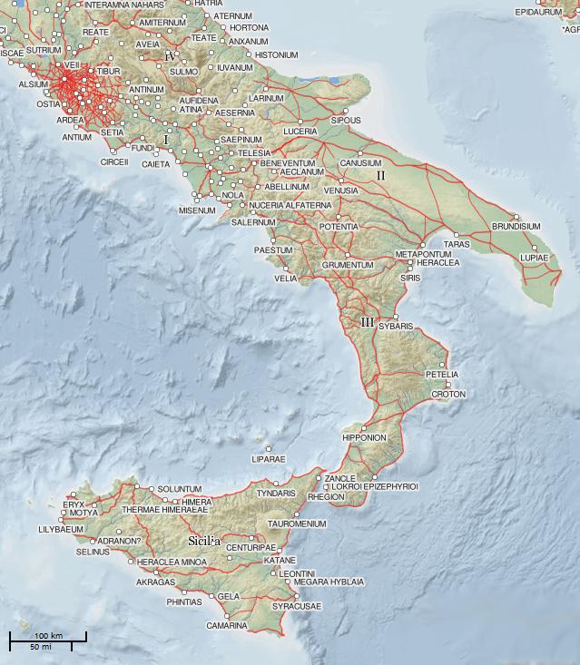citt della magna grecia e pre elleniche